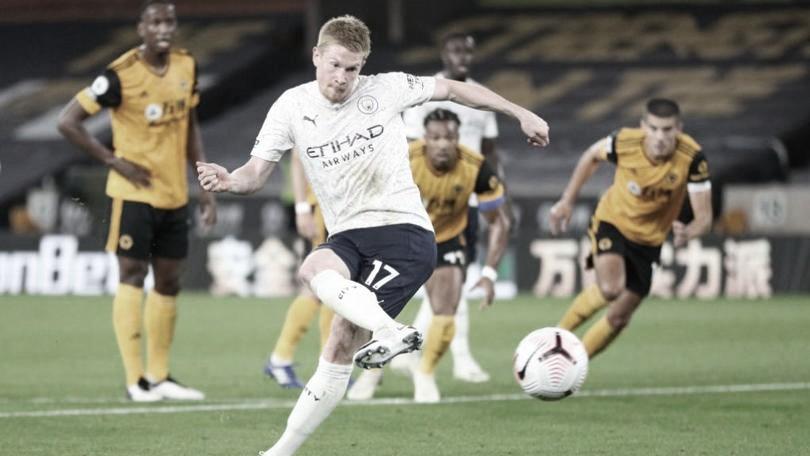 Manchester City se impõe contra Wolverhampton e garante vitória na Premier League