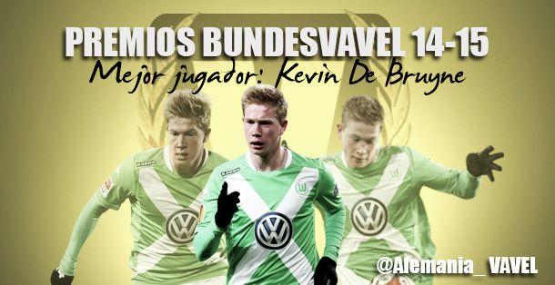Mejor jugador de la Bundesliga 2014/2015: Kevin De Bruyne