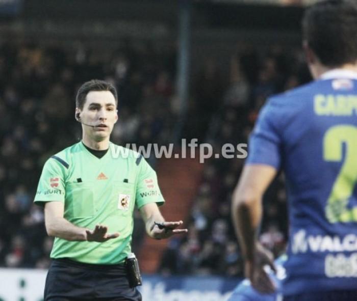 Designación arbitral para el CD Leganés - FC Barcelona