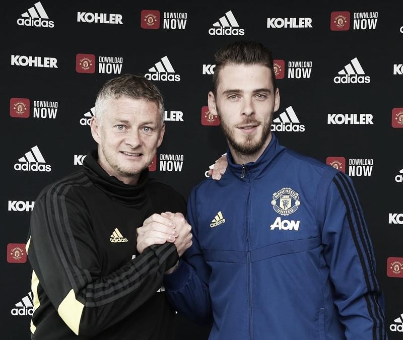 De Gea renova com Manchester United até 2024