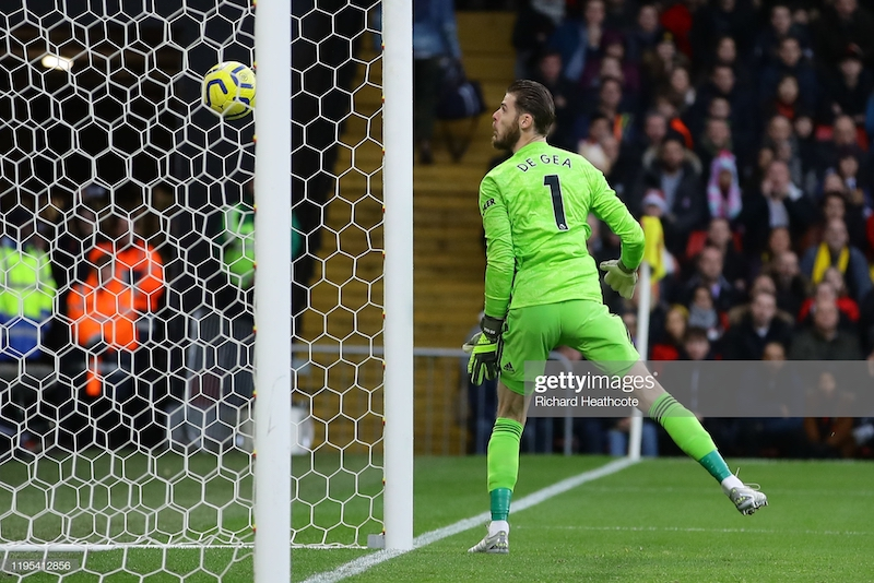 Watford 2-0 Manchester United: Catastrophic De Gea blunder gives Hornets second win