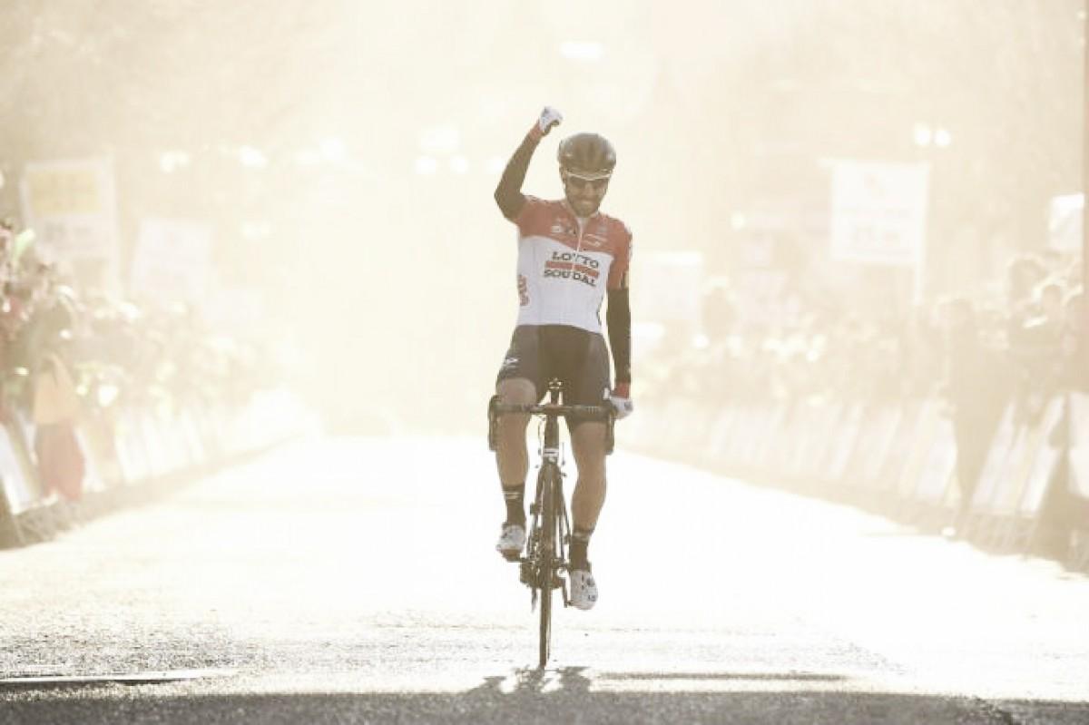 Thomas de Gendt se exhibe en Camprodón en un homenaje al ciclismo de ataque