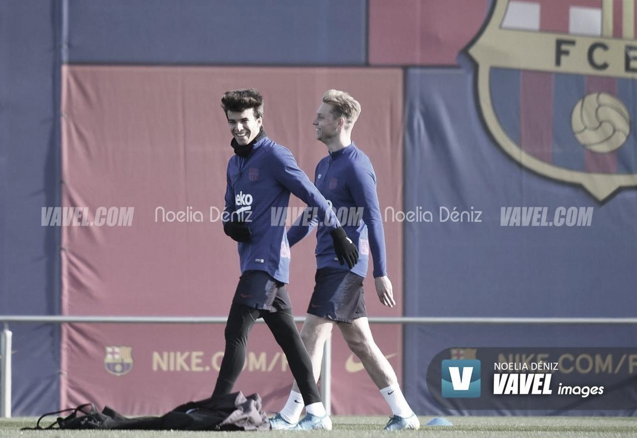 El Barcelona sigue con su puesta a punto