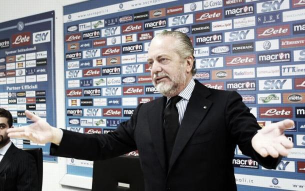 """De Laurentiis amareggiato: """"Felice che il Napoli diverta, dispiaciuto per ieri sera"""""""