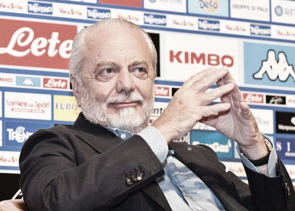 Napoli - De Laurentiis annuncia gli imminenti arrivi di Sabaly ed Ochoa