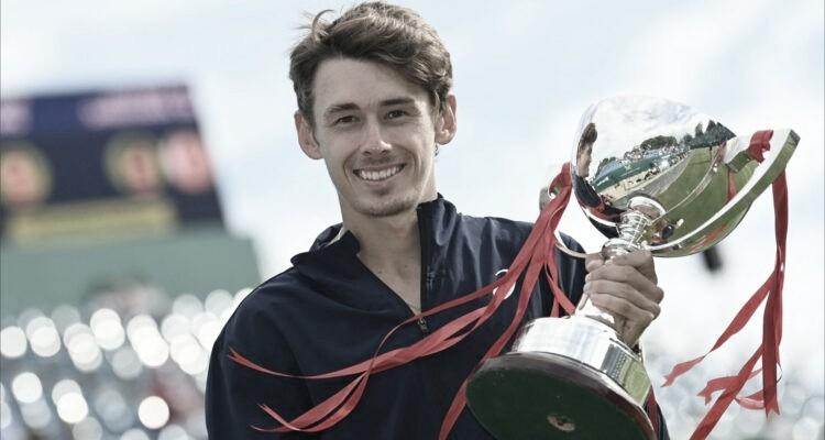 De Minaur vence final equilibrada com Sonego e é campeão em Eastbourne