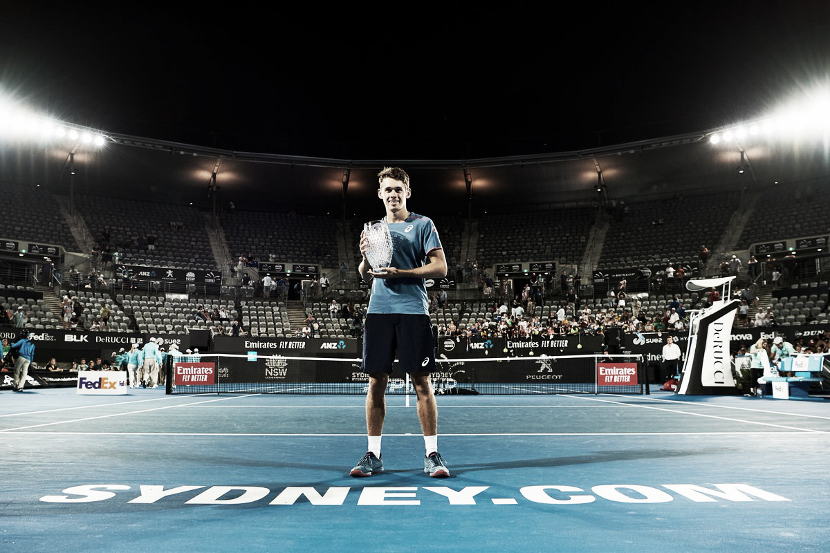 De Minaur supera Seppi e conquista seu primeiro título ATP da carreira em Sydney