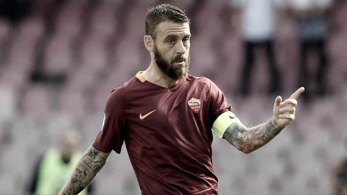 """Roma, Daniele De Rossi: """"Totti manca molto, pensavo fosse eterno"""""""