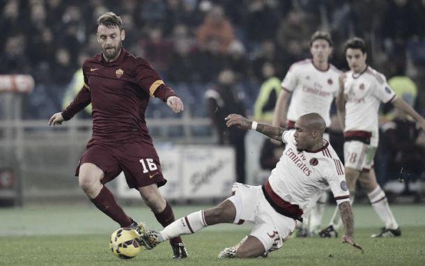 Diretta Milan - Roma in risultato partita Serie A(2-1)