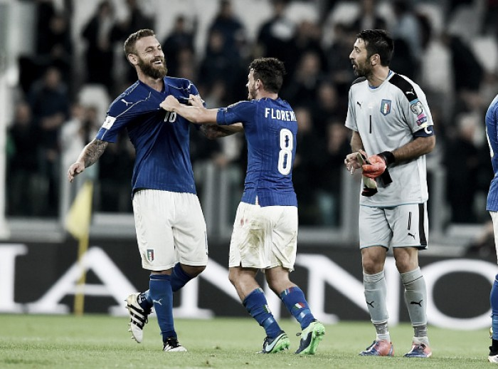 """Daniele De Rossi defende Buffon após falha em jogo contra Espanha: """"O melhor goleiro da história também erra"""""""