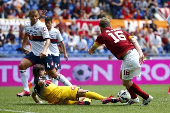 Partita Genoa-Roma in Serie A 2016 (2-3): Tachtsidis, poi Salah e Pavo-gol. Totti-El Sha!