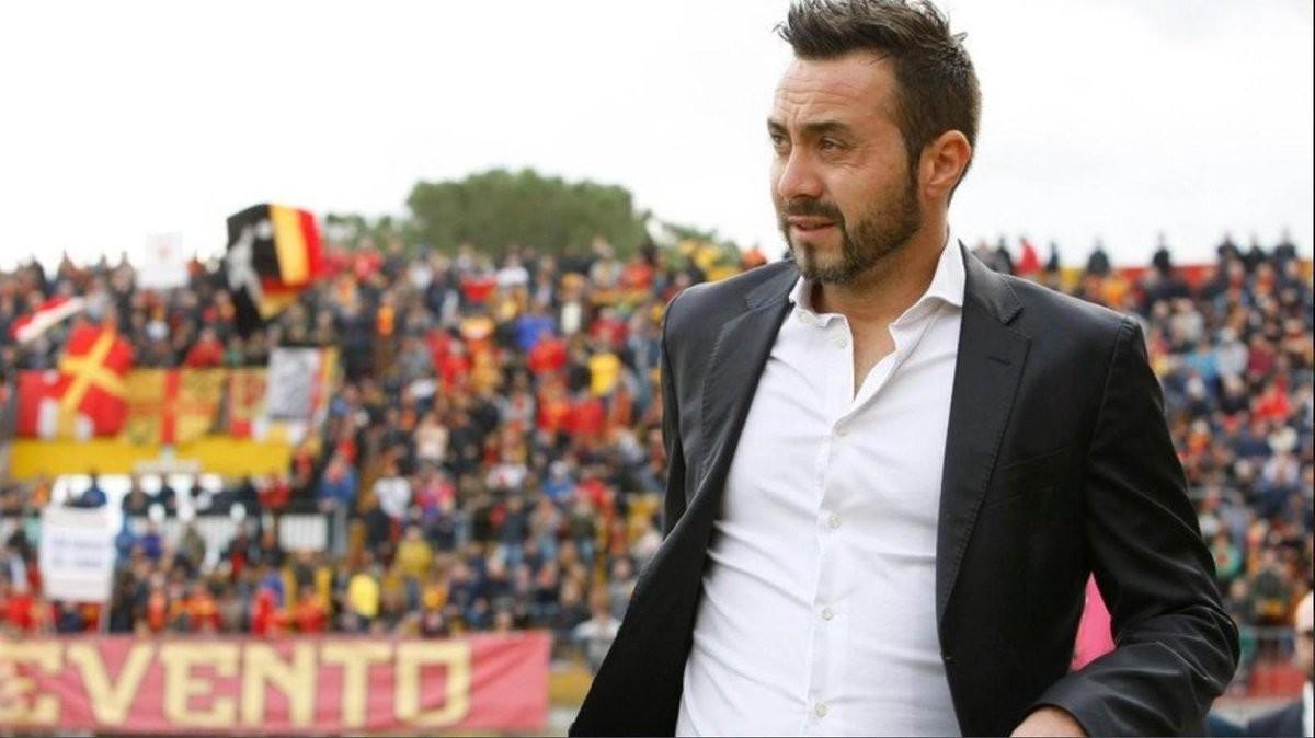 """De Zerbi: """"Il Benevento è superiore a chi si sta giocando la salvezza"""""""