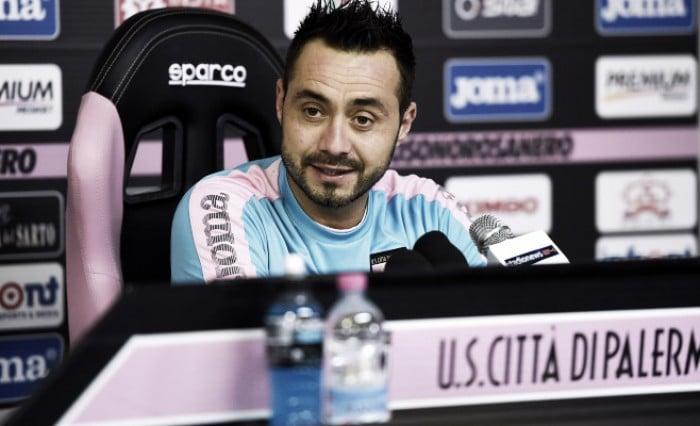 """Palermo, De Zerbi: """"Io a rischio con la Lazio? Penso a dare il massimo di me stesso"""""""
