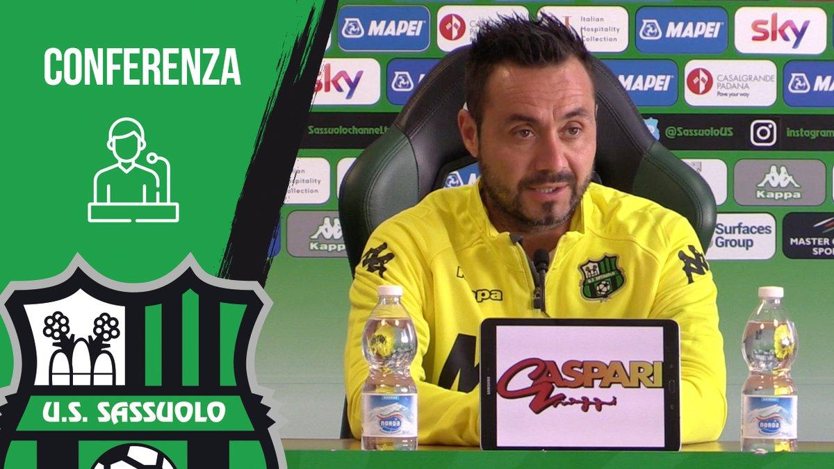 Sassuolo: De Zerbi presenta la sfida contro il Napoli