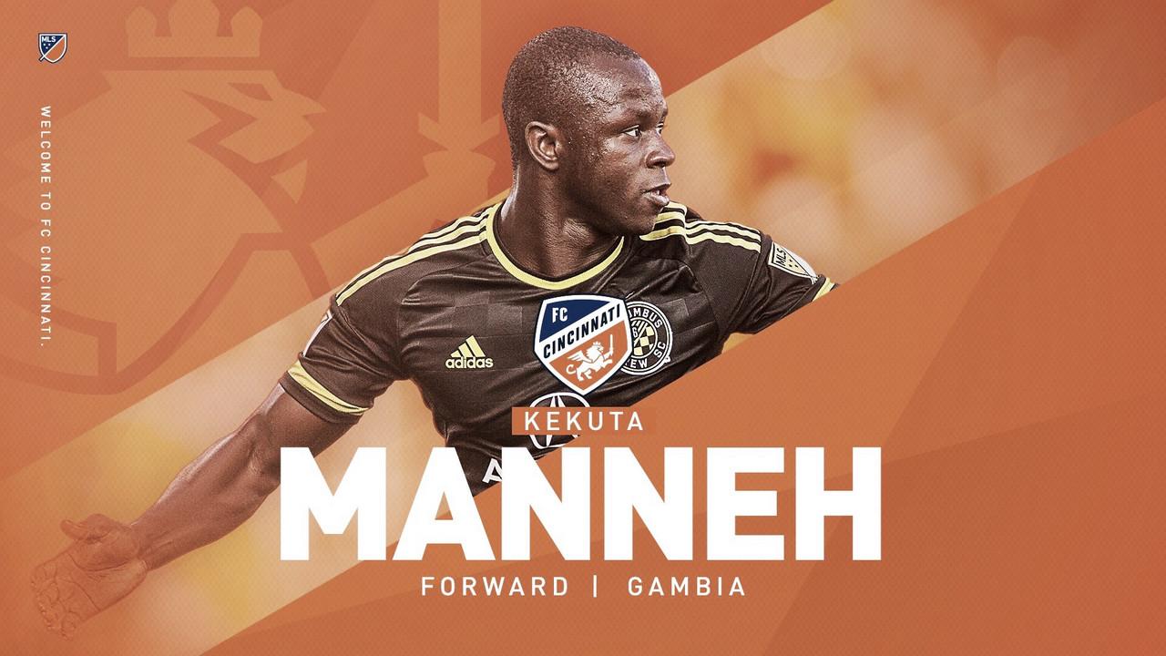 Kekuta Manneh vuelve a la MLS