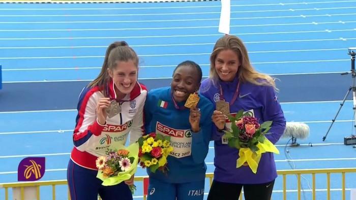 Atletica, Europei Under23 - BYDGOSZCZ 2017: Folorunso e Chiappinelli d'oro, Furlani di bronzo