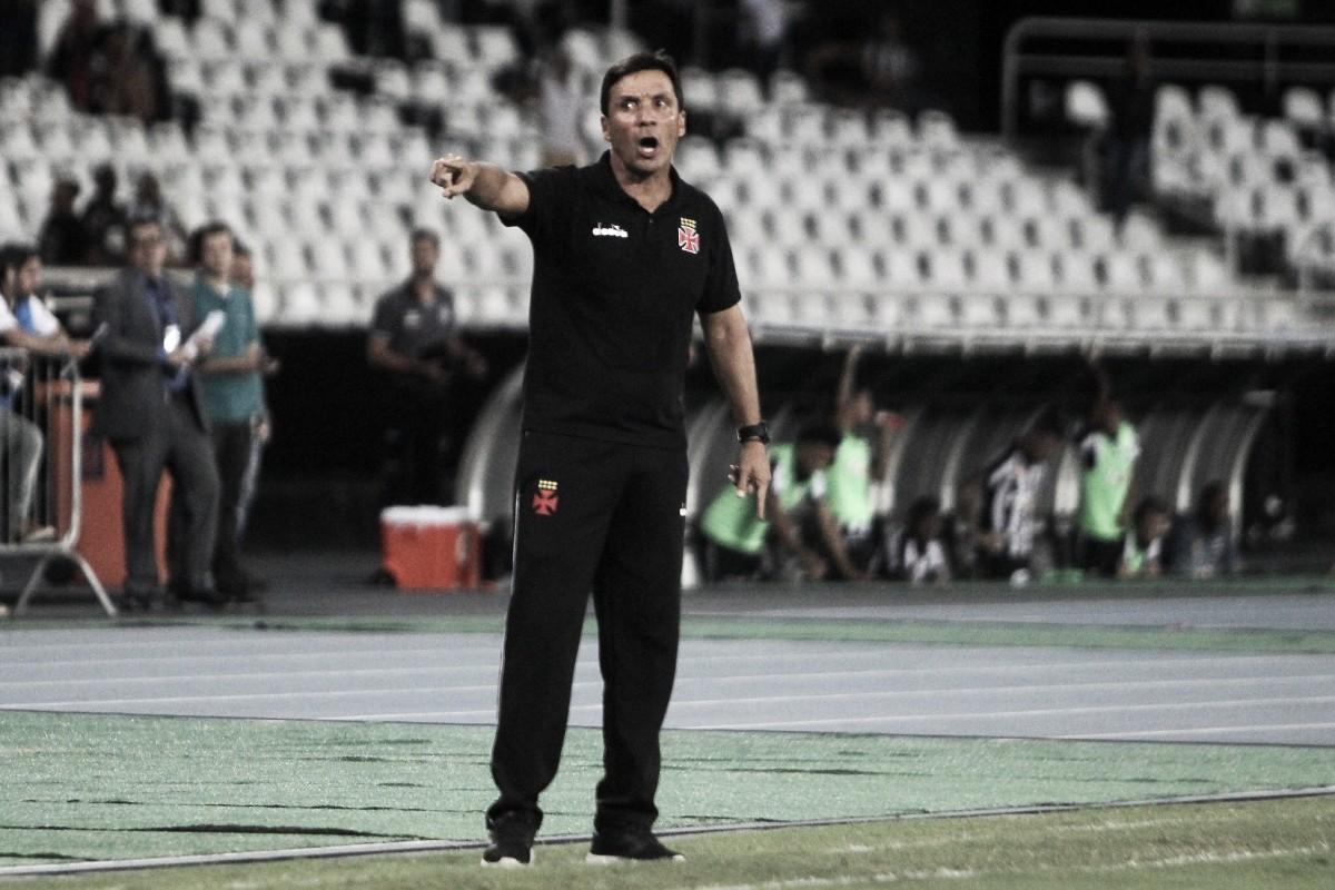 """Zé Ricardo reconhece erros cruciais em bola aérea do Vasco: """"Precisamos trabalhar"""""""