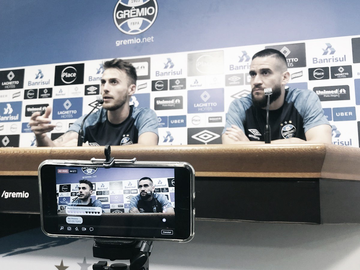 """Bressan alerta sobre vantagem do Grêmio: """"Goiás vai nos trazer dificuldades"""""""