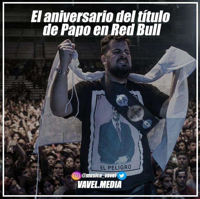 El aniversario del título de Papo en Red Bull