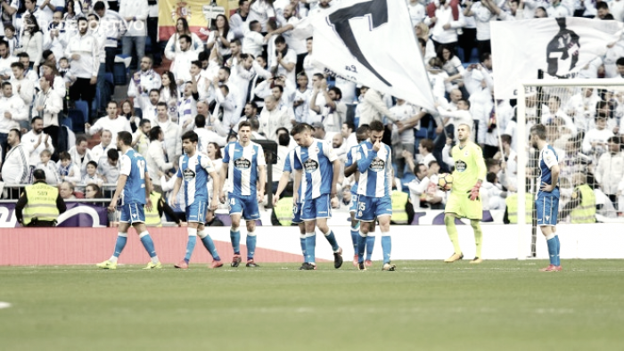 Real Madrid - Deportivo: puntuaciones del Deportivo, jornada 20 de la Liga Santander
