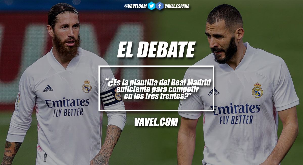 El debate: ¿Es la plantilla del Real Madrid suficiente para competir en los tres frentes?
