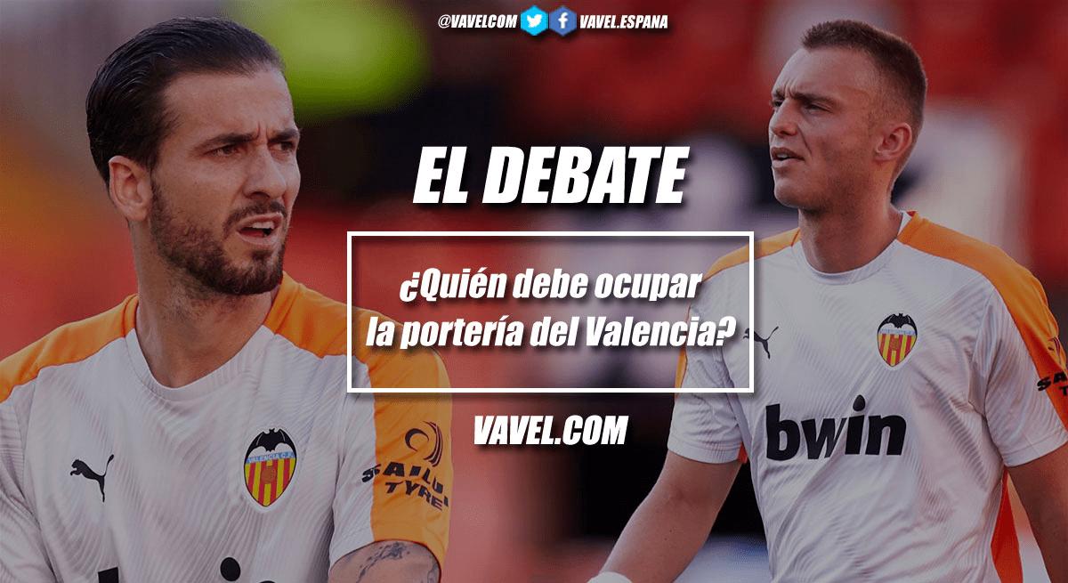 Fotomontaje para el debate que compete a la portería del Valencia CF | Fuente: Javi García, VAVEL España (Imágenes vía Getty Images, fototeca)