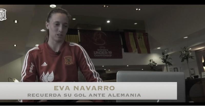 Eva Navarro recuerda el Europeo Sub-17 de 2018