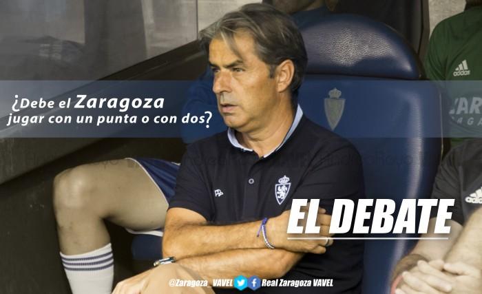 El debate: ¿debe el Zaragoza jugar con un punta o con dos?