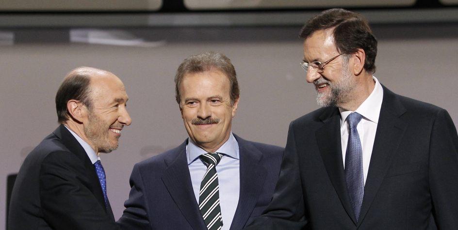 Rajoy vs Rubalcaba, un combate sin ganador