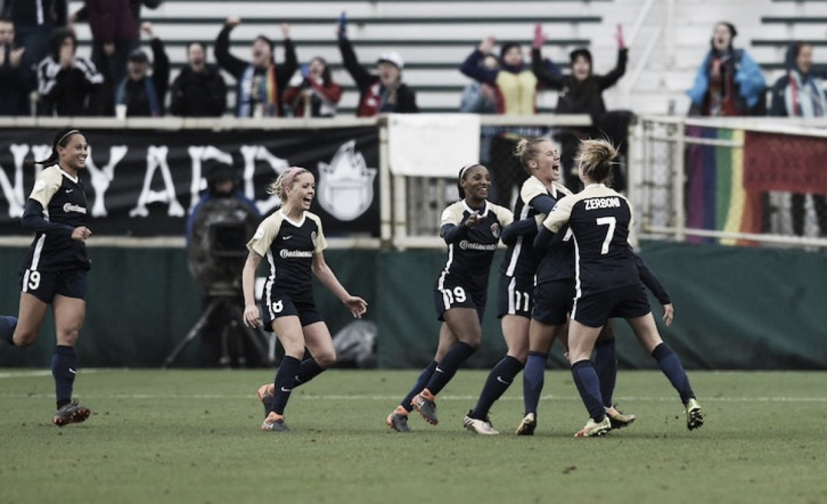 The North Carolina Courage earn the first points of the 2018 NWSL season
