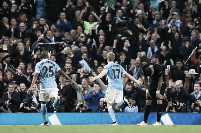 De Bruyne porta il City nella storia: prima semifinale di Champions per i Citiziens