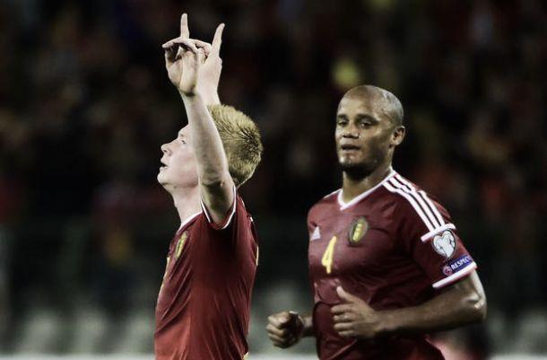 Belgio di rimonta, crisi Bosnia: 3-1 a Bruxelles