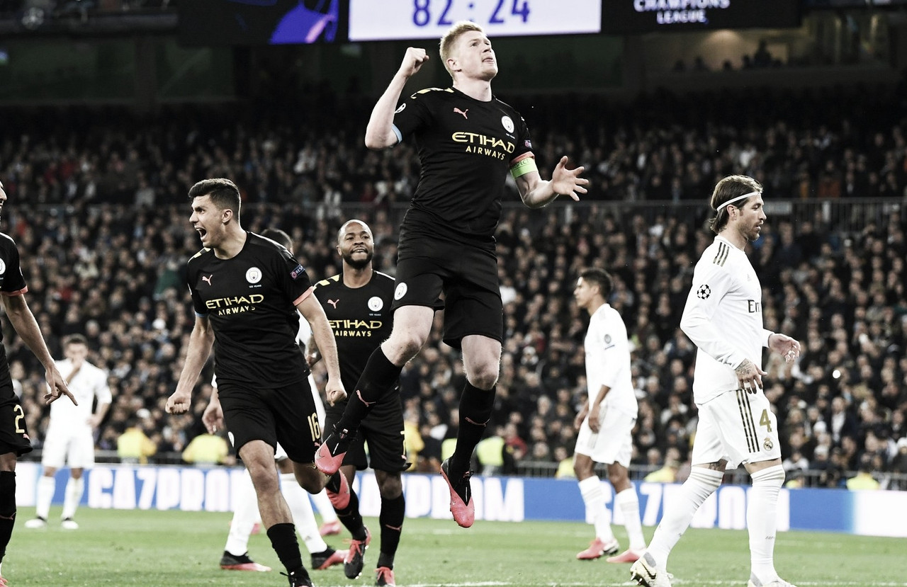 Manchester City vs Real Madrid EN VIVO y en directo online en UEFA Champions League 2020