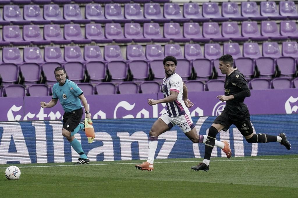 Janko con el balón// foto: RealValladolid.es