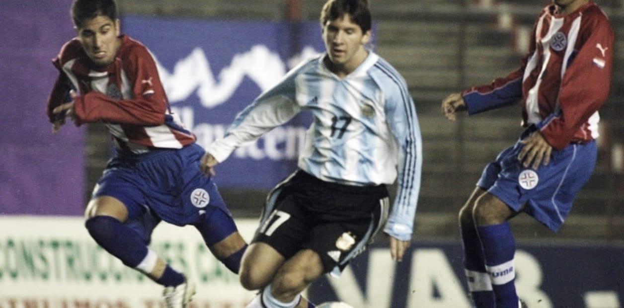 A 17 años del debut de Messi con la Selección