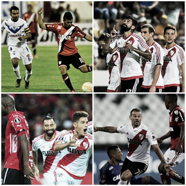 Los estrenos de Libertadores en la era Gallardo