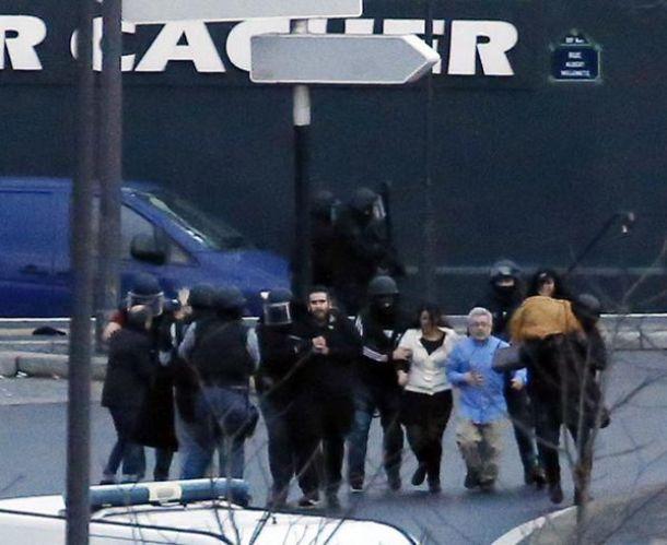Fin de la vague de terreur à Paris