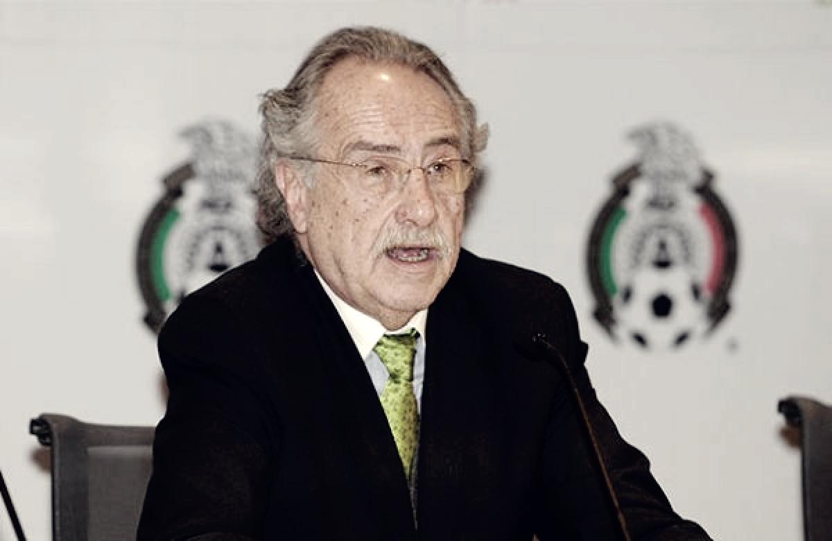 Decio de María, fuera de la Federación Mexicana de futbol