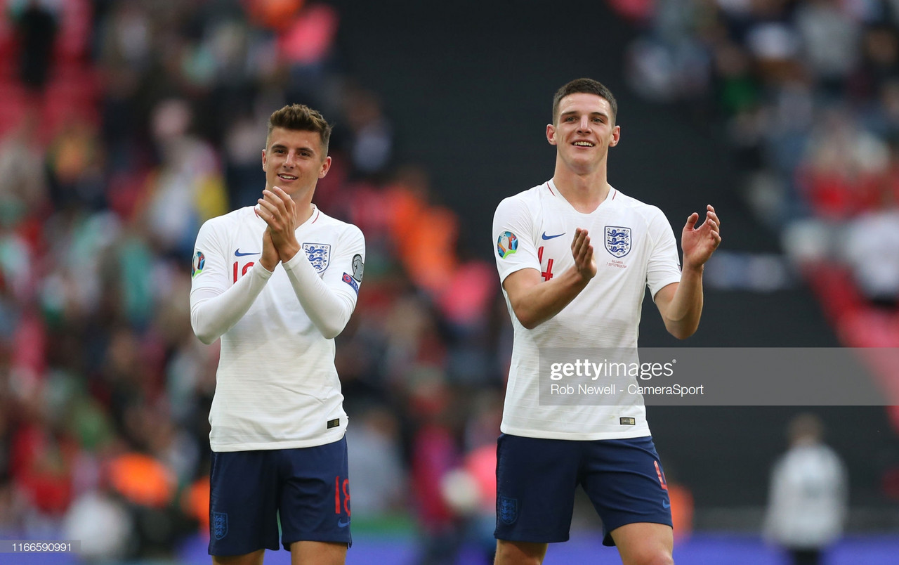 Declan Rice: Mason Mount 'could score in every game if he wanted to'