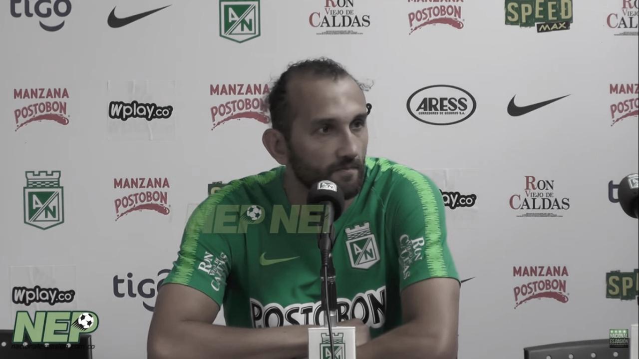 """Hernán Barcos: """"Estoy tranquilo y muy feliz acá"""""""