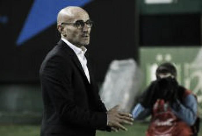"""Paolo Montero: """"Me voy contento por el esfuerzo de los jugadores"""""""