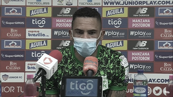 """Jonatan Álvez: """"Uno siempre trata de dar lo mejor por el equipo y eso se vio reflejado en este partido"""""""