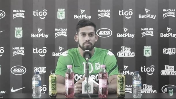 """Andrés Andrade: """"Espero que la hinchada se pueda conectar con nosotros"""""""
