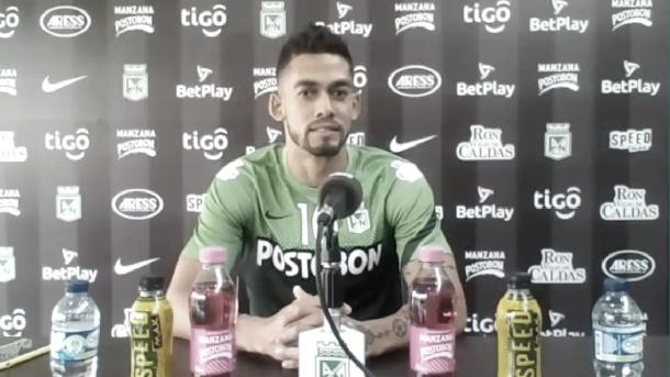 """Andrés Andrade: """"Tenemos que pensar que haciendo las cosas bien podemos traernos la victoria"""""""