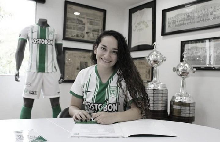 """Sara Pulecio: """"Soy una jugadora que siente la camiseta, táctica, ordenada y puedo ser una gran líder en el equipo"""""""