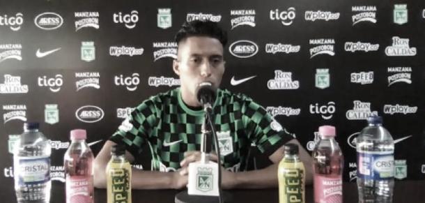 """Sebastián Gómez: """"Tolima es líder, pero esto es Nacional y hay que ganar"""""""