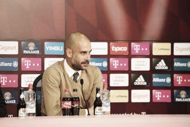 """Pep Guardiola: """"No me queda más que felicitar a mis jugadores"""""""