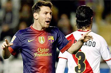 """Messi: """"Lo de menos es superar a Pelé, lo importante era ganar en Vallecas"""