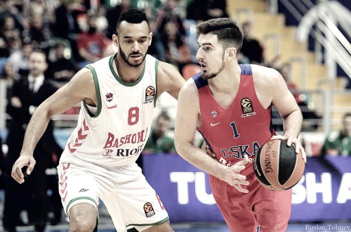 Turkish Airlines EuroLeague - Hines salva il CSKA contro uno stoico Baskonia: russi avanti 2-0