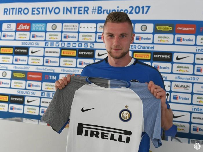 """Inter, Skriniar: """"Avevo altre offerte, ma ho preferito i colori nerazzurri"""""""